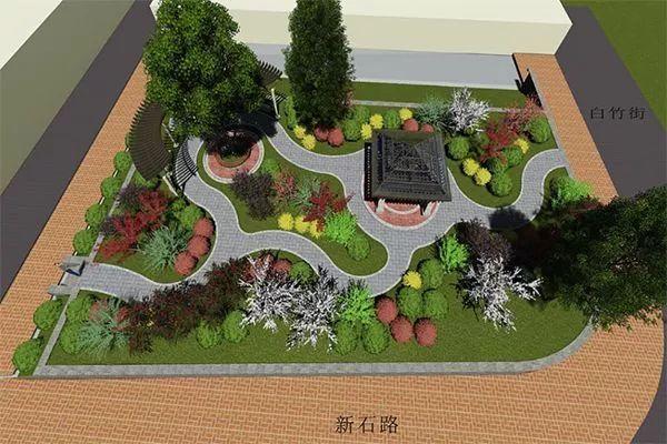 """市区10处""""口袋公园""""即将开工,绿色就在你家门口!"""